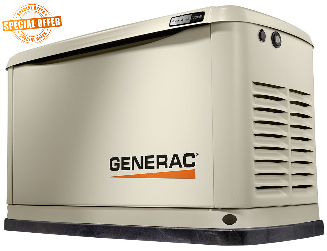 GENERAC GUARDIAN 16KW HOME BACKUP GENERATOR WITH FREE MOBILE LINK